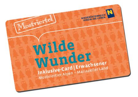 Wilde Wunder Card 2017